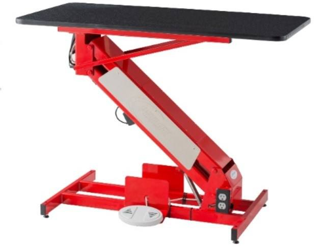The MasterLift Low Rider Electric Grooming Table